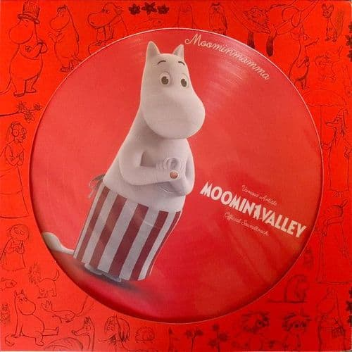 Various<br>MoominValley - Official Soundtrack<br>LP, Comp, Picture Disc, Red